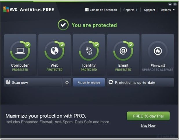 Download AVG Antivirus Free For Windows 10