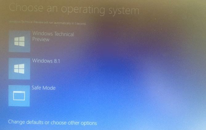 how to get to windows 10 boot menu