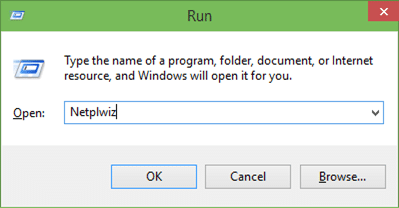Automaticlly login in Windows 10 step01