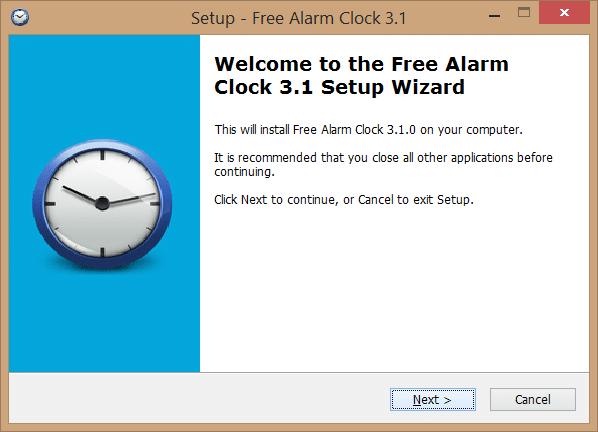 Free Alarm Clock for Windows desktop