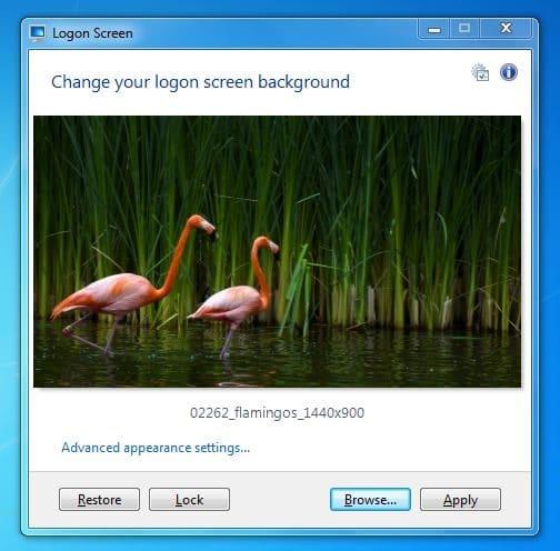 how to stop lock screen windows 7