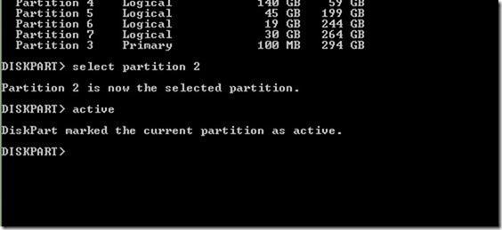 windows 7 repair command prompt change drive letter