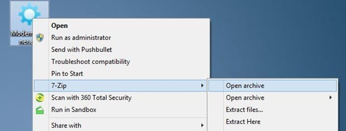 Fix: 7-Zip Option Is Missing From Context Menu In Windows 10