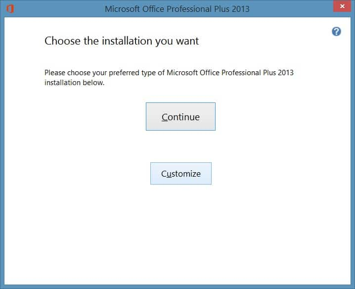 Change or update product key of Office 2013 step4