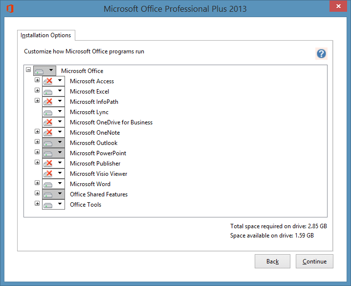 Change or update product key of Office 2013 step6