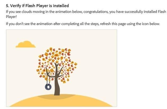 Enable Adobe Flash Player in Internet Explorer step3