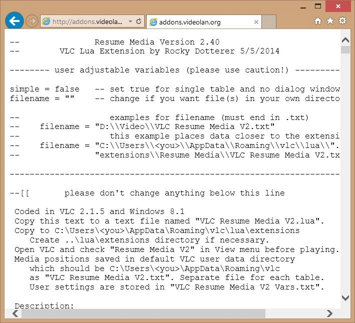 How To Install VLC Extensions In Windows