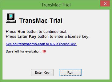 Mac OS X Bootable USB On Windows step1