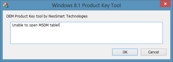 recover windows 10 product key from bios or uefi
