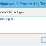 NeoSmart OEM Product Key Tool: Recover Windows 10 Product Key From BIOS/EFI