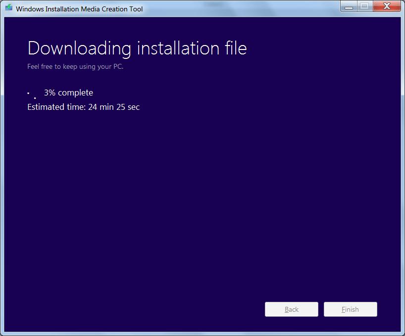 how to fix windows 10 media creation tool