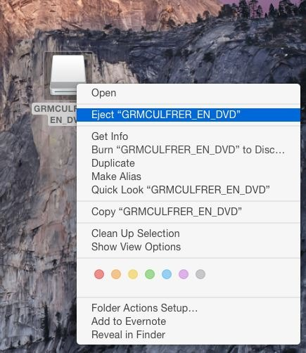 Your bootable USB drive could not be created error in Boot Camp Mac OS X