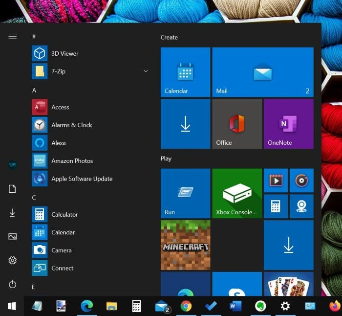 show all programs by default in Windows 10 Start menu pic01