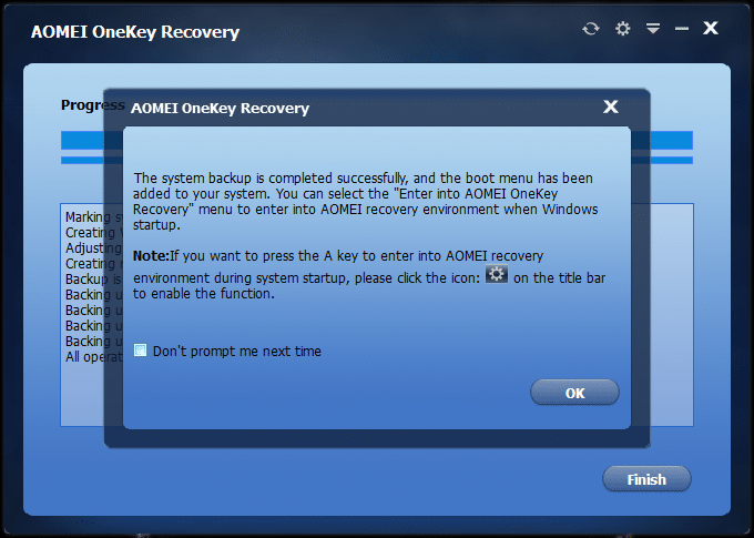 Create dedicated recovery partition Windows of 10 (5)