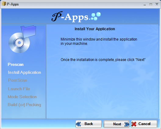 Create portable version of a software papps 3