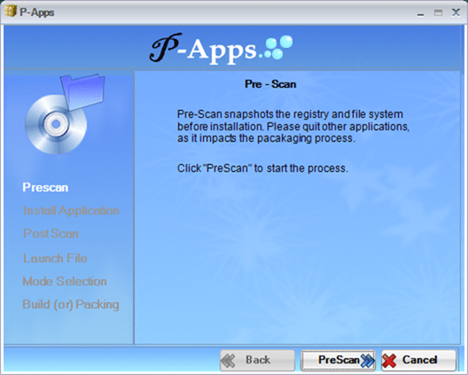 Create portable version of a software papps