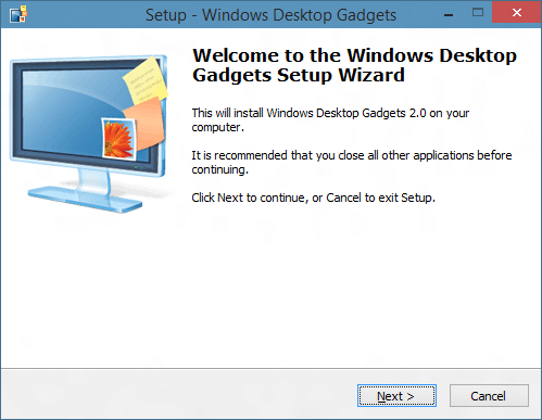 Desktop Gadgets Installer is fully compatible with Windows 10, both ...