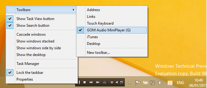 Download GOM Audio Player For Windows 10