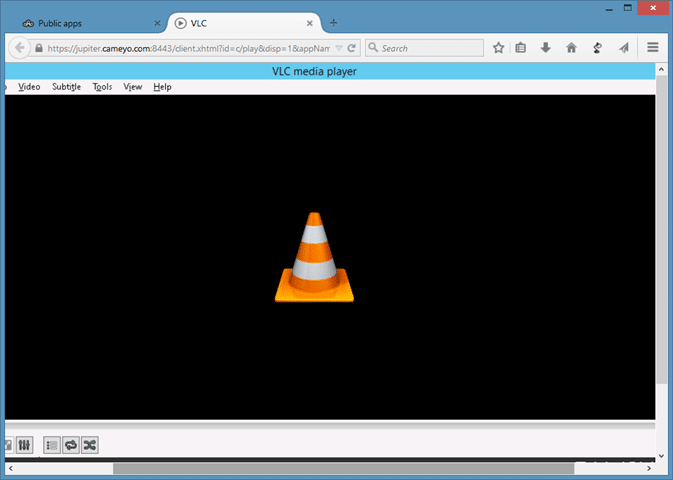 Run Windows programs from the cloud using Cameyo picture1