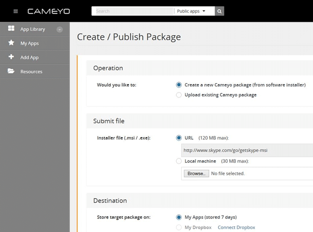Run Windows programs from the cloud using Cameyo picture4
