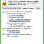 Toolbar Cleaner: Remove Unwanted Web Browser Toolbars