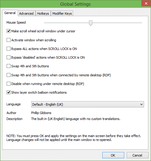 X-Mouse Button Control for Windows
