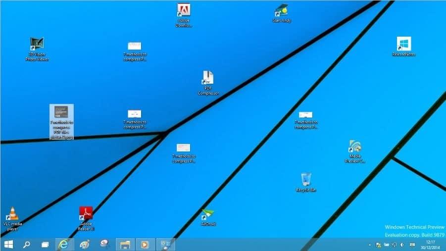 lock desktop icons in Windows