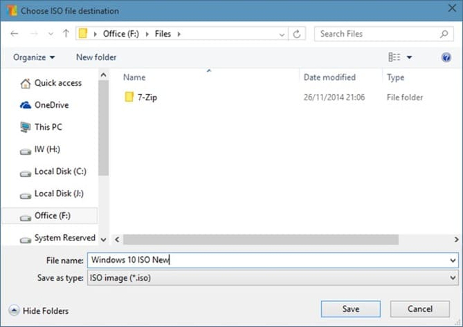 Convert ESD File to ISO step5