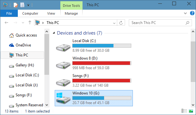 how to find windows old folder