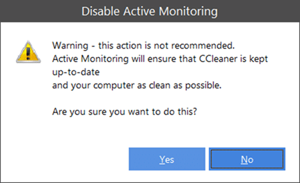 Disable CCleaner Alert Popup1