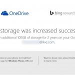 Claim Free 100 GB OneDrive Storage Worldwide
