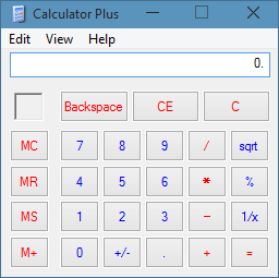 Old Calculator in Windows 10 picture3