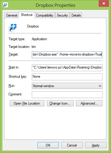 Remove Move to Dropbox from context menu step7