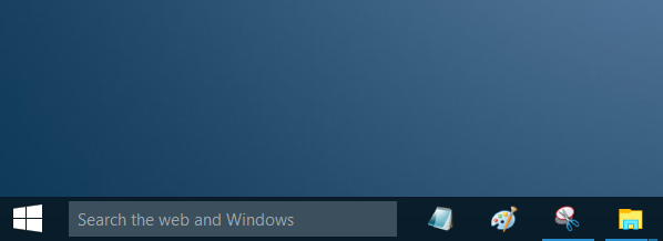 Remove Search Box From Windows 10 Taskbar