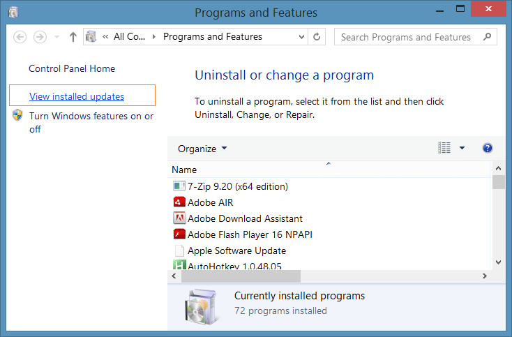 Remove Upgrade to Windows 10 message step2