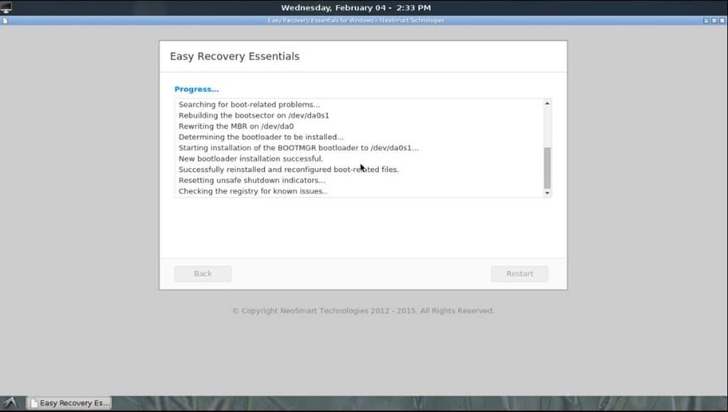Download EasyRE Windows 10 Recovery ISO For Free