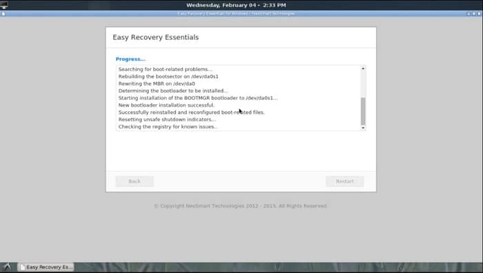 Windows 10 easyre recovery disk ISO free