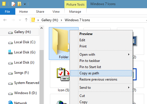 Windows 7 style folder icons in Windows 10 step05