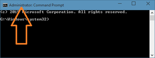 Enable the hidden built in Administrator account in Windows 10 step 2