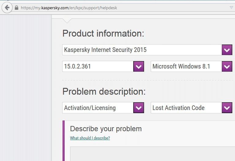 Recovering Kaspersky license key