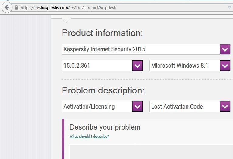 Recovering Kaspersky license key