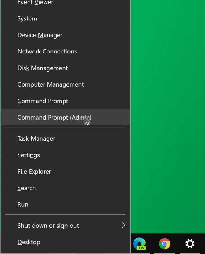 open command prompt as administrator in Windows 10 pic04