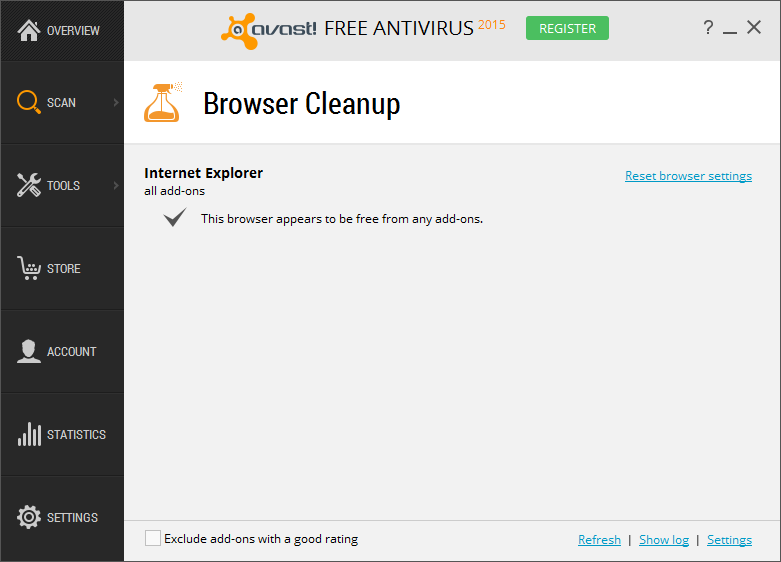 Avast Free Antivirus for Windows 10