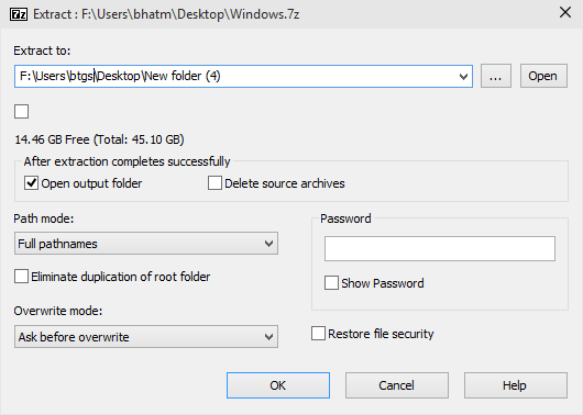Easy 7-Zip For Windows 10 picture3