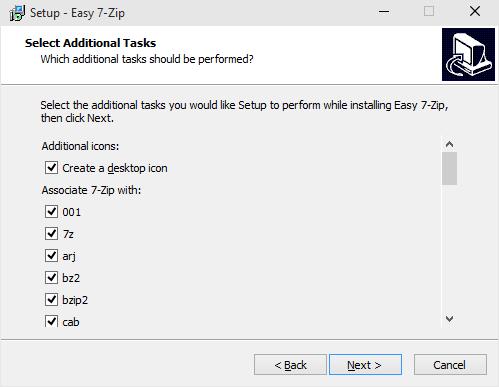 Easy 7-Zip: Better Version Of Popular 7-Zip Software