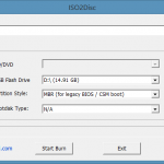 ISO2Disc: Free Tool To Create Bootable USB & Windows To Go Drive