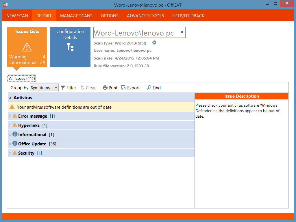 Fix Microsoft Office 2010/2013 Issues With This Tool