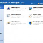 Windows 10 Manager: One Tool To Optimize and Tweak Windows 10