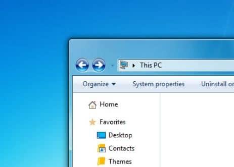 aero desktop theme windows 10