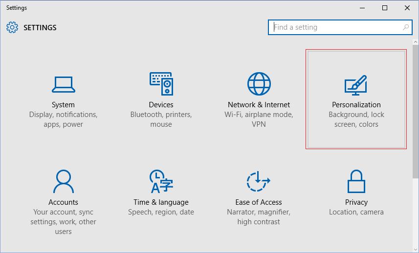 Change the color of Start menu step2
